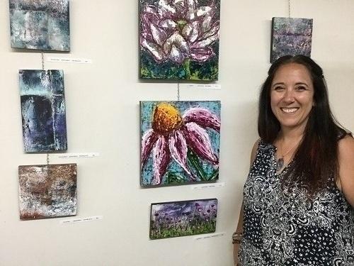 BLG artist Janine Adamo