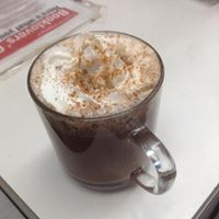 BLG cafe mocha latte