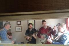 Musicians Ed, Mark, Eric, Gary