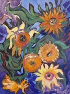 BVAA sunflowers Betty Havens