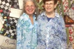Artist sisters Jean Marie & Bette