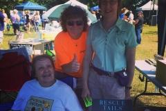 Author Darlene Arden, Charlene & Deb at Pet Rock