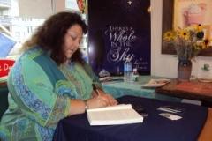 Loralee Dubeau signing