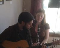 BLG musicians Mark Mandeville & Raianne Richards